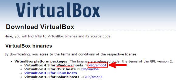 Скачиваем VirtualBox