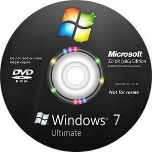 Диск с Windows 7 - скрытый раздел